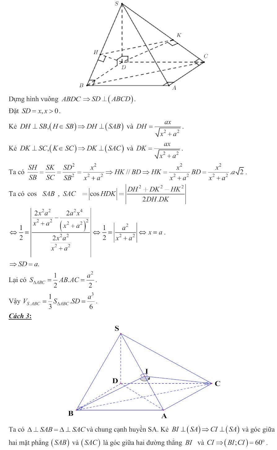 Đáp án đề minh họa thi thpt quốc gia môn toán 2020 lần 1_22