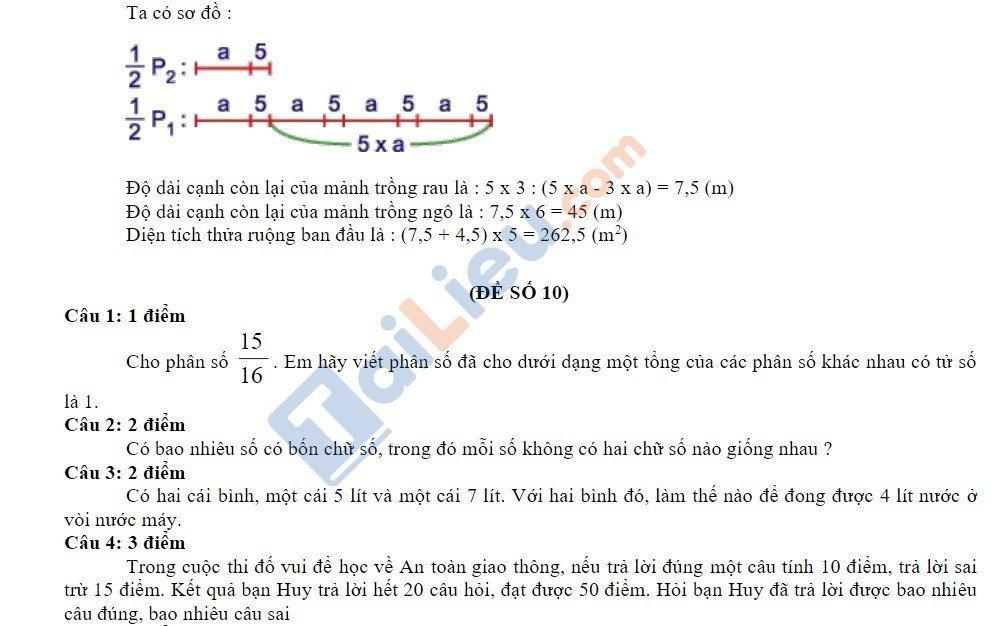 10 Đề thi vào lớp 6 môn toán 2020 mới nhất_34