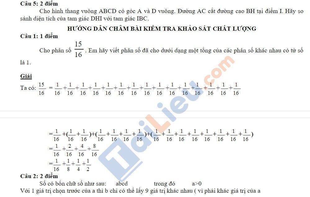 10 Đề thi vào lớp 6 môn toán 2020 mới nhất_35