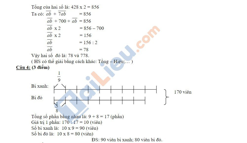 10 Đề thi vào lớp 6 môn toán 2020 mới nhất_6