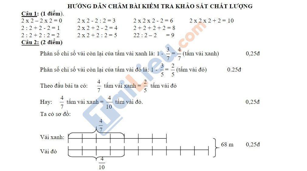 10 Đề thi vào lớp 6 môn toán 2020 mới nhất_9