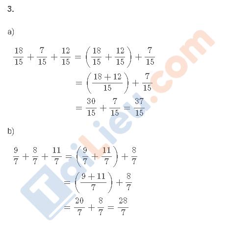 Đáp án câu 3 vở bài tập toán 4 trang 42 tập 2