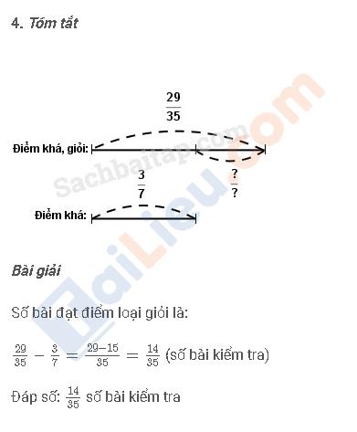 Đáp án câu 4 vở bài tập toán 4 trang 42 tập 2