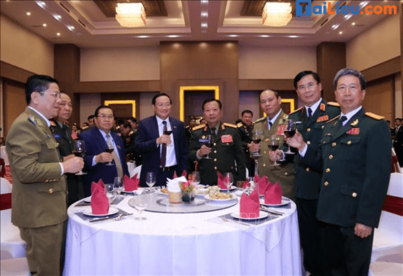 Hình ảnh về lễ kỉ niệm 74 năm ngày thành lập quân đội nhân dân Việt Nam