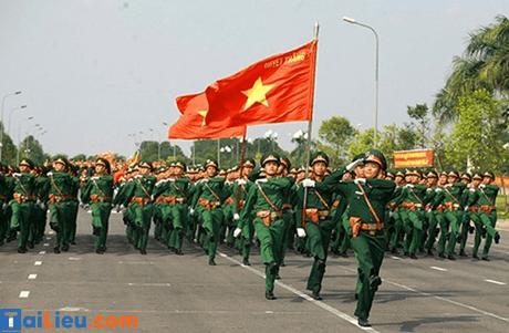 Lễ kỉ niệm ngày thành lập quân đội nhân dân Việt Nam 22/12