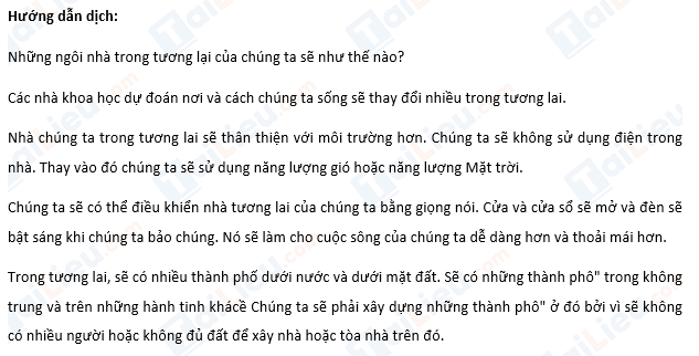 Review 4 Tiếng Anh lớp 6