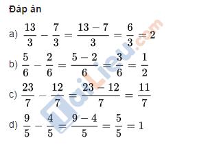 Giải vở bài tập toán lớp 4 trang 41