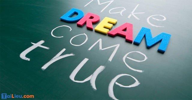 Nghị luận về ước mơ